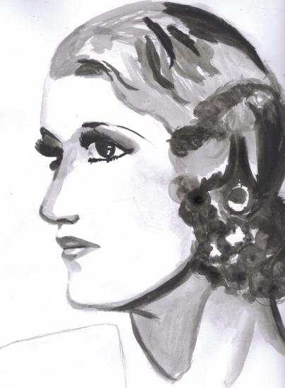 Mary Pickford by Leena